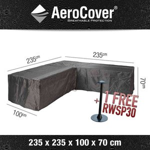 AeroCover Cover for L-shaped lounge sofa, 235 x 235 H: 70 cm