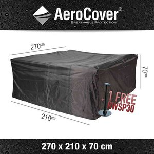 AeroCover Cover for garden (lounge) furniture set, 270 x 210 H: 70 cm