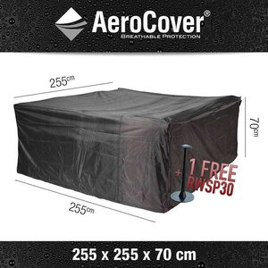 AeroCover Cover for lounge furniture, 255 x 255 H: 70 cm