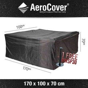 AeroCover Cover for rattan garden sofa, 170 x 100 H: 70 cm