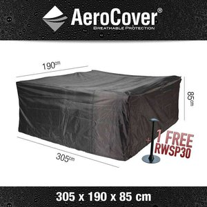 AeroCover Rain cover for rectangular patio furniture, 305 x 190 H: 85 cm