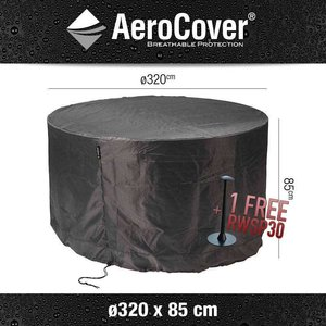 AeroCover Protection cover for a round table, Ø 320 cm & H: 85 cm