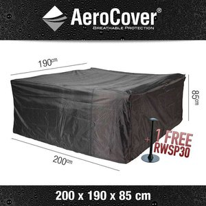 AeroCover Cover for rectangular patio set, 200 x 190 H: 85 cm