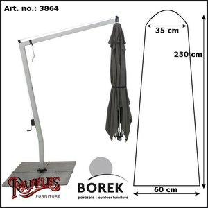 Borek Hanging cantilever parasol case, H: 230 cm