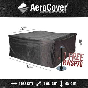 AeroCover Garden furniture protection cover, 190 x 180 H: 85 cm