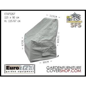 EuroTrail Lounge chair cover, 115 x 90 H: 115/67 cm