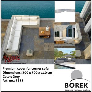 Borek Lounge set cover for corner sofa, 300 x 300 x 110 cm