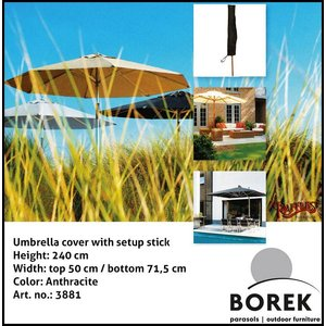 Borek Cover for umbrella, H: 240 cm