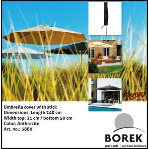 Borek Borek parasol case, H: 200 cm