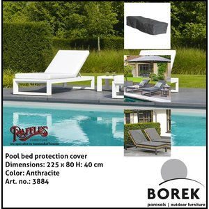 Borek Pool bed protection cover, 225 x 80 H: 40 cm