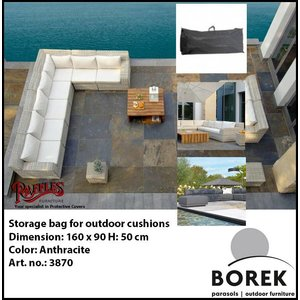 Borek Outdoor cushions storage bag, 160 x 90 H: 50cm