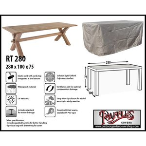 Raffles Covers Garden cover for table, 280 x 100 H: 75 cm