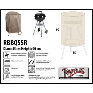Raffles Covers Round barbecue cover, Ø 55 H: 90 cm