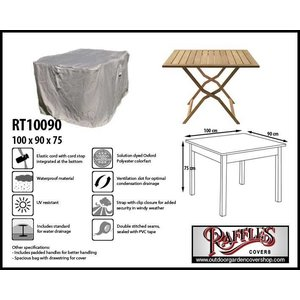 Raffles Covers Patio table cover, 100 x 90 H: 75 cm