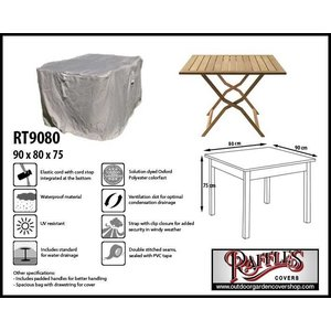 Raffles Covers Outdoor table protection cover, 90 x 80 H: 75 cm