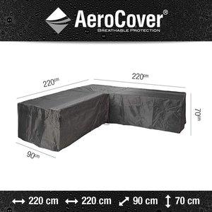 AeroCover Cover lounge corner sofa, 220 x 220 H: 70 cm