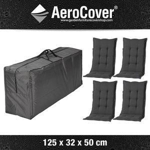 AeroCover Storage for garden furniture cushions, 125 x 50 H: 32 cm