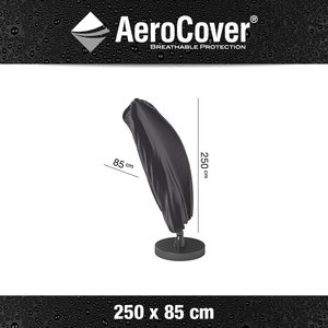 AeroCover Protection cover for curved cantilever parasol, H: 250 cm