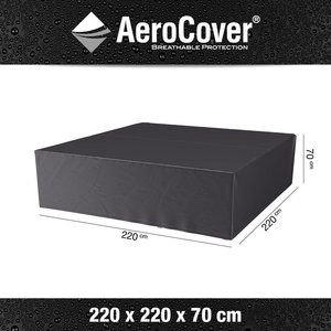 AeroCover Cover for square lounge set, 220 x 220 H: 70 cm