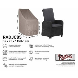 Raffles Covers Cover for rattan chair, 85 x 75 H: 115 / 65 cm