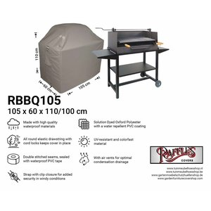Raffles Covers Outdoor grill cover, 105 x 60 H: 110 / 100 cm