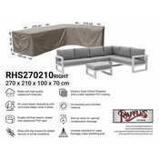 Raffles Covers Outdoor L-shaped cover 270 x 210 x 100, H: 70 cm