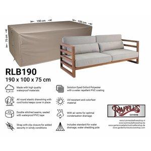 Raffles Covers Garden lounge sofa cover, 190 x 100 H: 75 cm