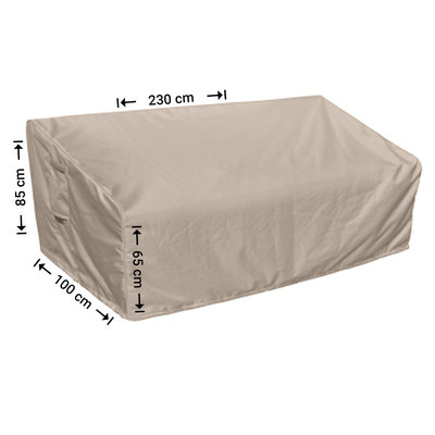 Raffles Covers Outdoor cover for sofa 230 x 100 H: 85 / 65 cm