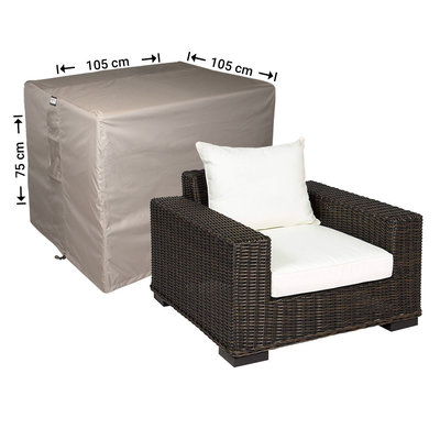 Raffles Covers Protection cover for lounge chair 105 x 105 H: 75 cm