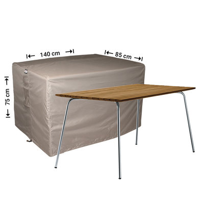 Raffles Covers Outdoor table protection cover 140 x 85 H: 75 cm