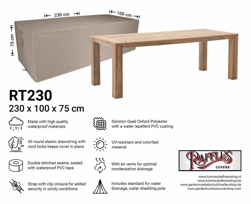Rectangular Garden Table Cover 230 X 100