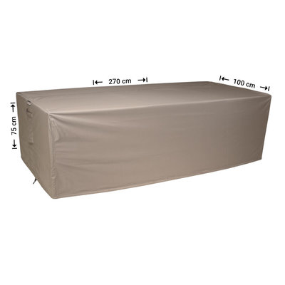 Raffles Covers Rectangular outdoor table cover 270 x 100 H: 75 cm