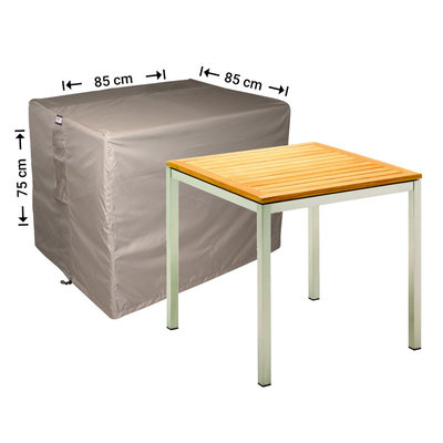 Raffles Covers Square garden table cover 85 x 85 H: 75 cm