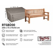 Raffles Covers Cover for large garden bench 200 x 75 H: 95/65 cm
