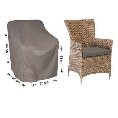 Raffles Covers Cover for hardwood garden chair 70 x 65 H:95/65cm