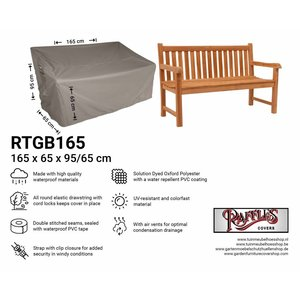 Raffles Covers Cover for garden bench, 165 x 65 H: 95/65cm