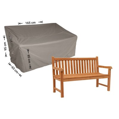 Raffles Covers Cover for garden bench 165 x 65 H: 95/65cm