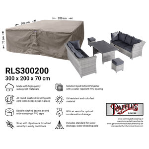 Raffles Covers Garden lounge set weather cover, 300 x 200 H: 70 cm