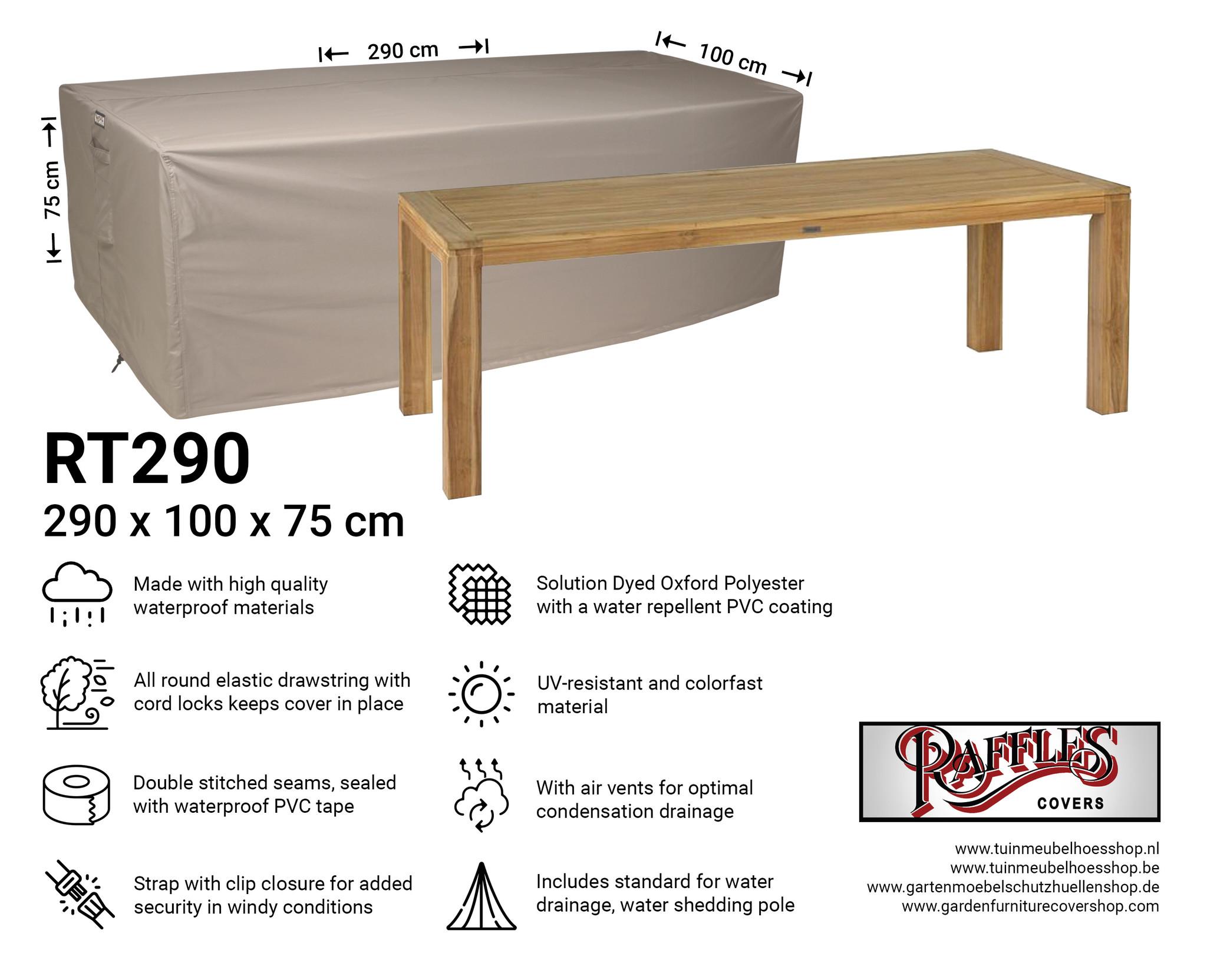 Garden Table Cover 290 X 100 Cm