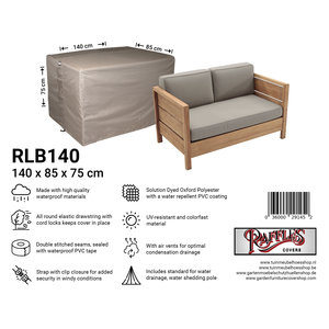 Raffles Covers Cover for rattan sofa, 140 x 85, H: 75 cm