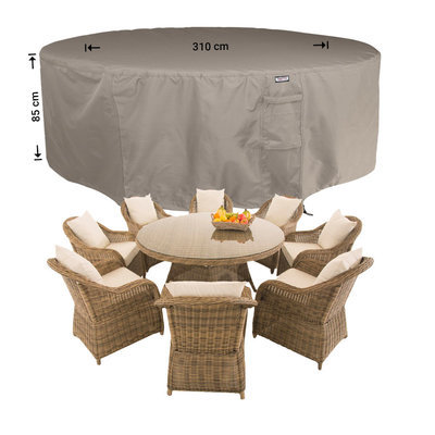 Raffles Covers Cover for circular patio set Ø: 310cm & H: 85 cm