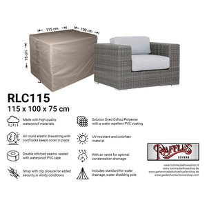 Raffles Covers Cover for a large lounge chair, 115 x 100 H: 75 cm