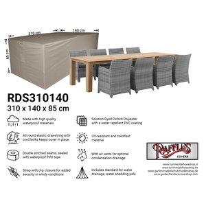 Raffles Covers Rectangular outdoor furniture cover, 310 x 140 H: 85 cm