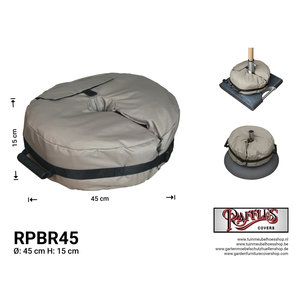 Raffles Covers Additional weight for parasol base