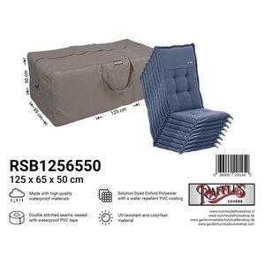 Raffles Covers Garden cushions storage bag, 125 x 65 H: 50 cm