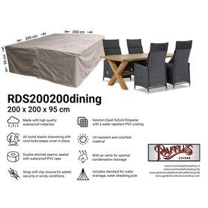 Raffles Covers Cover for outdoor garden set, 200 x 200 H: 95 cm