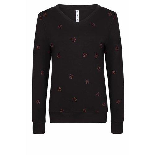 Zoso printed sweater Sanne