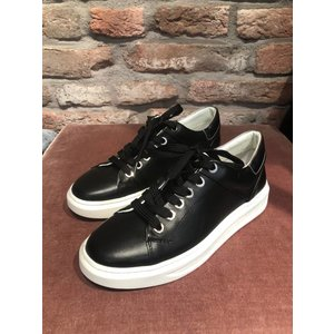 Hip shoestyle leather sneaker D1506