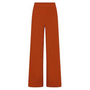 YDENCE Pippa high waist broek rust SS19032