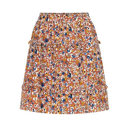 YDENCE Skirt Jolie kort plooirokje print